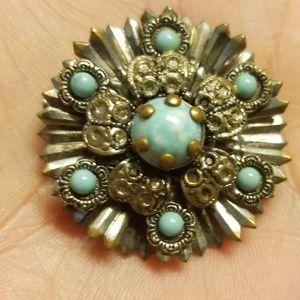 Native American vintage brooch PM 716